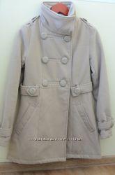 Бежевое пальто Jenyffer