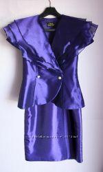 Элегантный нарядный костюм 44 р-р