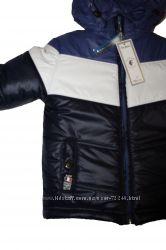 Зимнии куртки  для мальчиков, Украина. Аналоги бенеттон, монклеа и ленне.