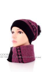 Женские и мужские теплые шапочки, качественные и стильные, Украина.