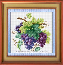 Набор для рисования камнями Виноград LasKo
