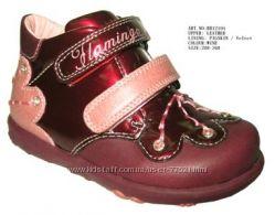 Весна кожаная обувь  девочкам, распродажа
