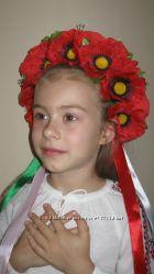 В наличии красивые  украинские веночки