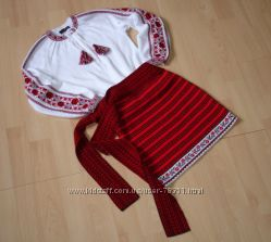 К празднику- украинский костюм