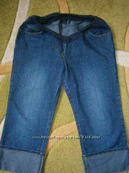 MOTHERCARE  для себя любимой беременной Капри джинсовые, юбочка и Подарок