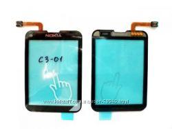 Сенсор тачскрин для Nokia С3-01. В наличии.