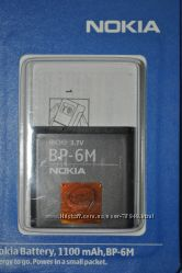Аккумулятор Nokia BP-6M оригинал.
