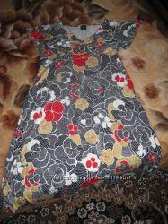 Летнее платье для беременной р. 12 UK