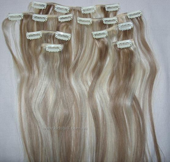 Натуральные волосы на заколках в тольятти
