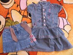 Платье и юбки на 2-3 года