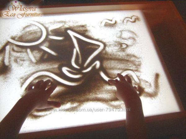 Столики для песочной анимации . KidStaff