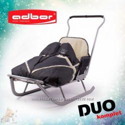 Санки ADBOR Piccolino DUO для двойняшек