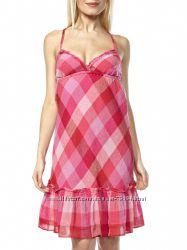 Хлопковое  платье-сарафан BENETTON , размер  С