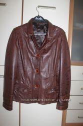 Пиджак кожанный р. 50-52