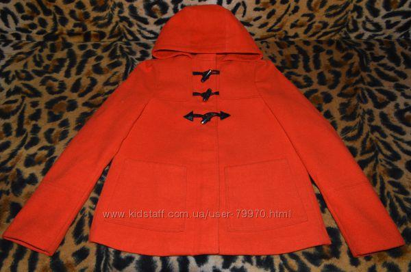 Яркое пальто НМ размер 34, XS