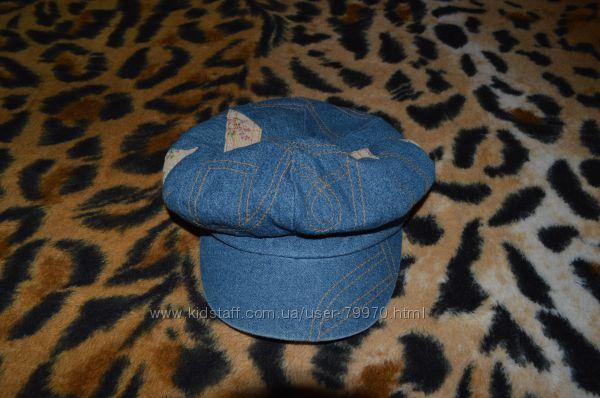 Джинсовая кепка George 3-5 лет