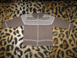 Теплый свитер на рост 86-92 см