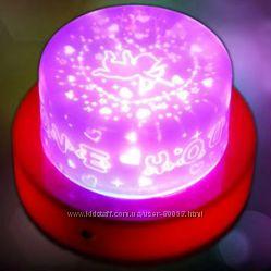 Светильник ночник проектор купидон в детскую подарок