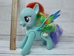 Пони hasbro my little pony май литл пони радуга делает сальто