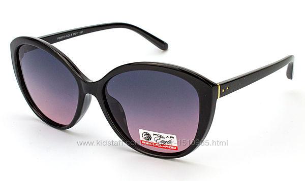 Солнцезащитные очки с поляризацией 2020 круглые, лисички