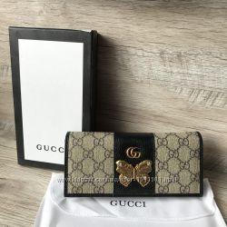 Стильный кошелёчек Gucci на кнопке