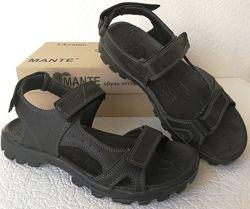 Mante xbiom комфорт Кожаные мужские сандалии Манте стиль лето