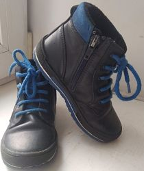 Ботинки Bartek Польша демисезонные кожа с флисовой подкладкой 26р