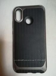 Чехол Spigen для Huawei P20 lite  nova 3e Neo Hybrid, Gunmetal