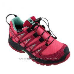 Salomon Gore-Tex kроссовки ботинки деми для девочки оригинал