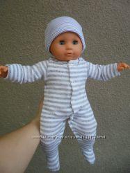 Кукла пупс мягкотелая 45см с клеймом Max Zapf 1995г.