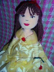 Кукла мягкая Белль 35см из мультфильма Красавица и чудовище Marks&Spencer