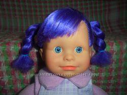Яркая красивая кукла с мягким телом ростом 40см