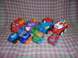 Машинки резиновые Playskool Tonka от Hasbro