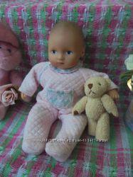 Маленькая милая кукла пупс Gotz, рост 22см