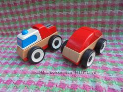 Машинка деревянная Икеа Лиллабу Ikea Lillabo