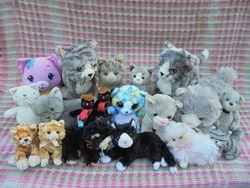 Игрушка мягкая кошка Mattel, IKEA, Fisher Price, TY, Bauer
