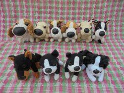 Игрушка мягкая брелок собака собачка The Dog Collection McDonalds, 8-10см