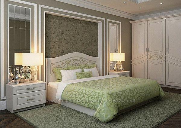 Двуспальная кровать Лира