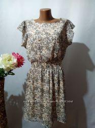 ee5d4307aca Романтичное шифоновое платье в принт Atmosphere