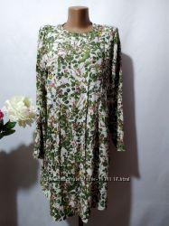 Платье из вискозы в принт H&M