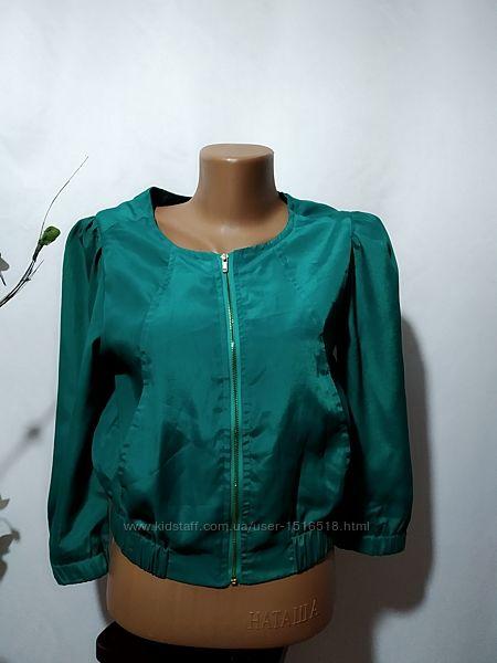 Укороченная летняя куртка ветровка Vera&Lucy