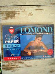 Фотобумага Lomond PHOTO PAPER LOMOND PREMIUM SATIN 280 гм2  100х150 мм
