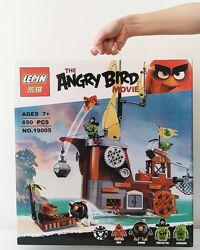Конструктор Lepin 19005 Angry Birds Пиратский корабль свинок 75825