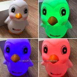Продам светильник ночник от Киндер форма Пингвиненка