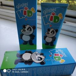 Glister kids зубна паста та зубні щітки для дітей