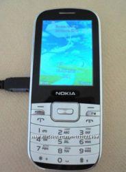 Мобильный телефон NOKIA экран 2, 4, на 2 SIM-карты