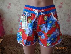 Яркие красочные шорты с карманами. новые расцветки