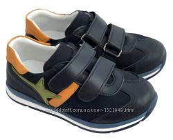 Кожаные детские кроссовки турецкой обувной фабрики Перлина 26 - 30р