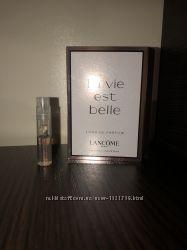 Lancome La vie est belle парфюмерная вода пробник