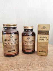 Витамин Д3, Vitamin D3, Solgar,